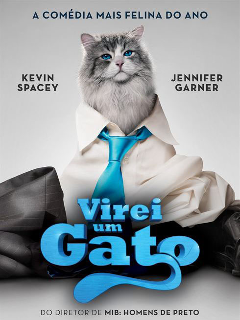 Virei um Gato Torrent – BluRay 720p e 1080p Dual Áudio (2016)