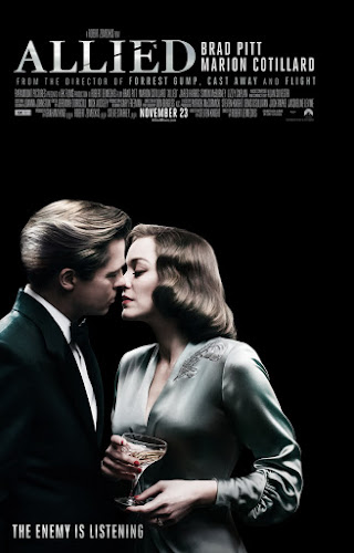 Allied (Web-DL 720p Dual Latino / Ingles) (2016)
