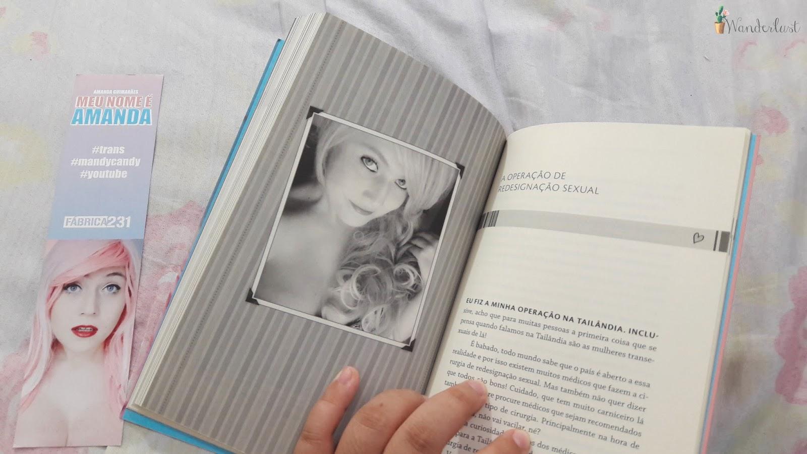 leituras, micaela ramos, livro, fotografia, meu nome é amanda, amanda guimaraes, mandy candy, youtuber brasileira, trans, lgbt, love wins,