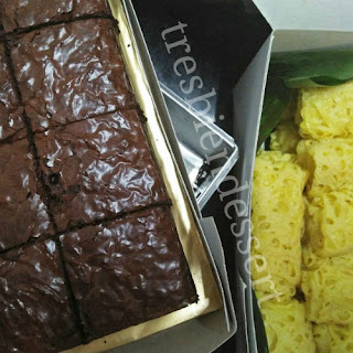 Kedai Dessert Kek Sedap DI Puchong: Brownies, Cream Puffs, Roti Jala, Cheese Tart