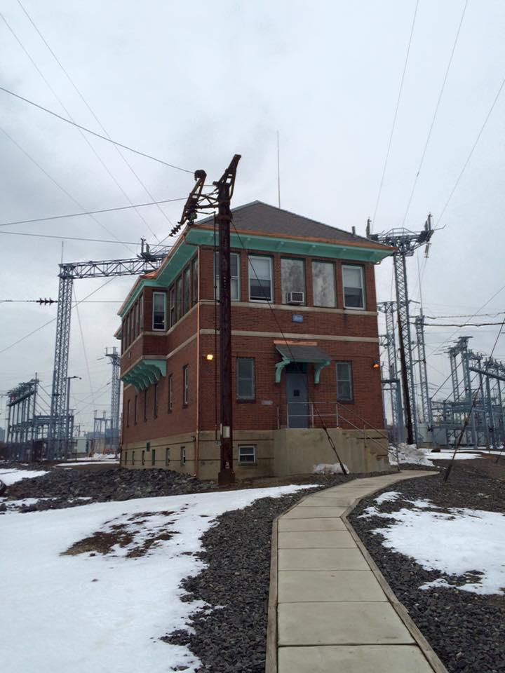 Industrial History Zoo Tower Philadelphia Amtrak Vs Amtrak