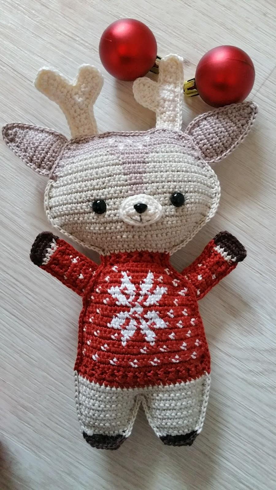 Knoopjesz Haken Hertje Holiday Reindeer