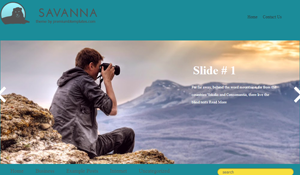 Savanna Blogger Template