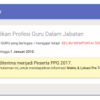 SIM PKB Cara Daftar Peserta Diklat PPG Terbaru 2018