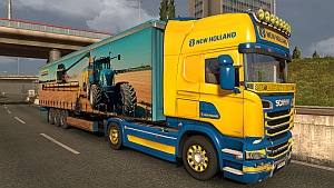 New Holland Streamline skin + trailer