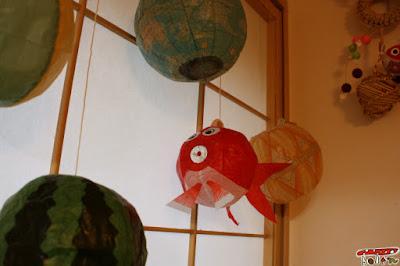 金魚の紙風船