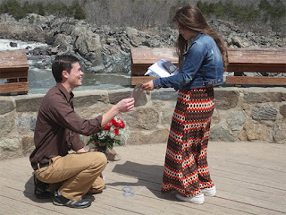 Michael Bates and Brandon Keilen engagement