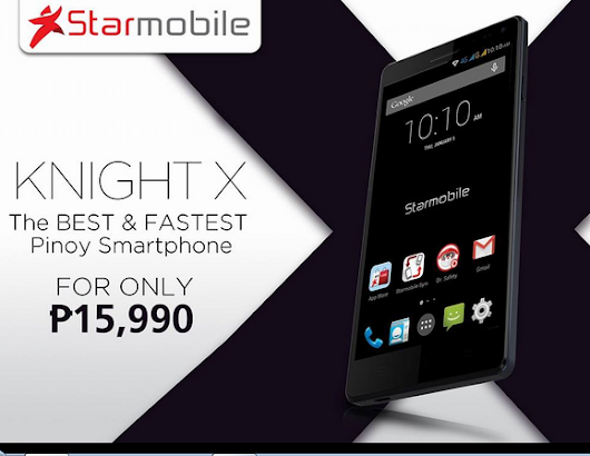 Starmobile Knight X flagship phone priced and specs - Trend Setter News