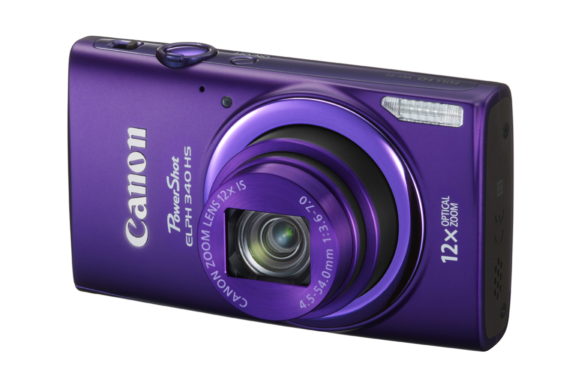 Canon PowerShot ELPH 340 HS Digital Camera