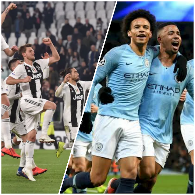 Fearless approach from Manchester City and Juventus