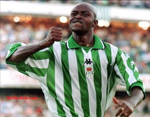 Image result for Finidi George Real Betis