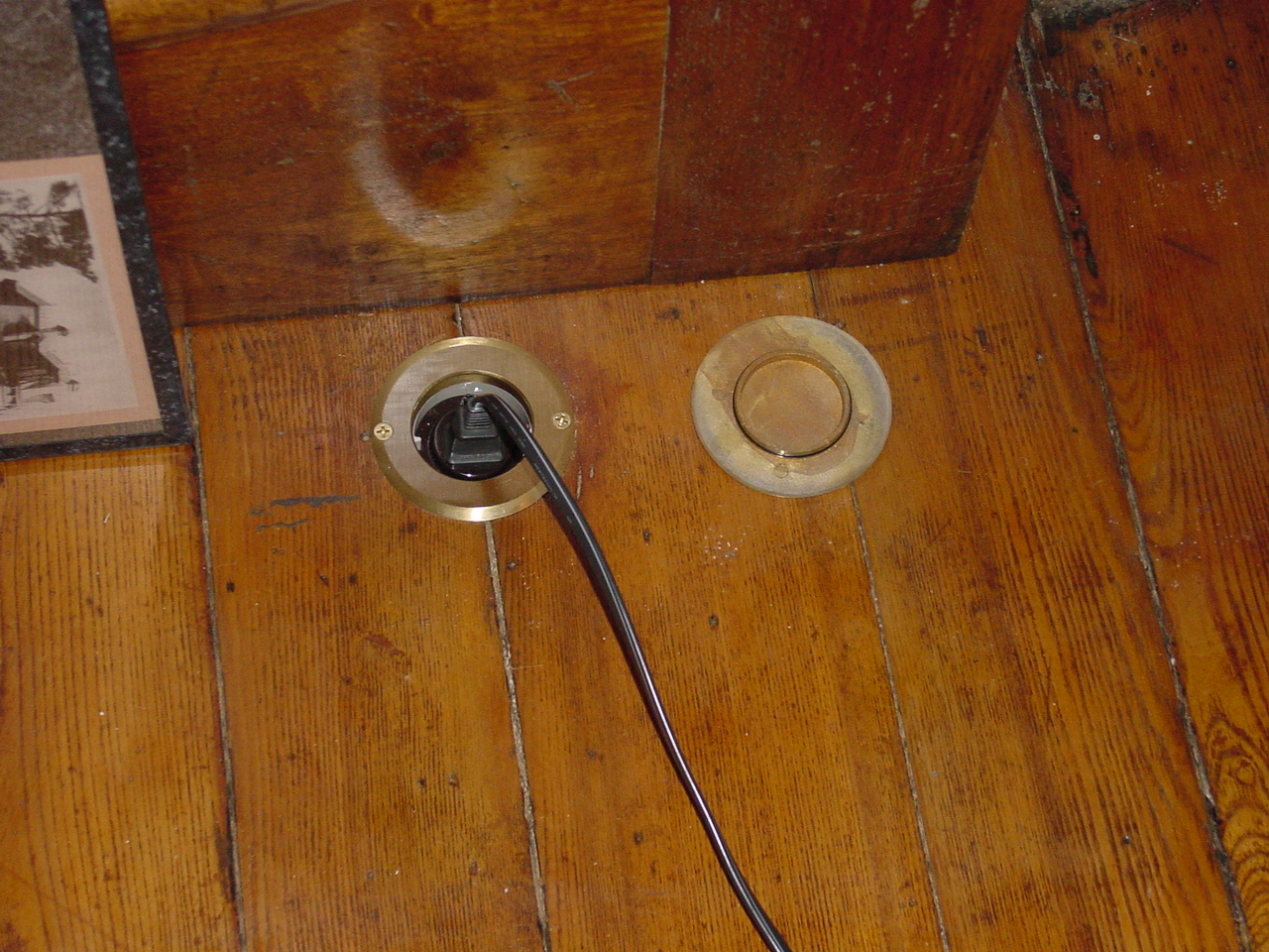 It Was Easier And More Practical To Install These Than Attempt Cut A Piece Of Wood Plug The Holes