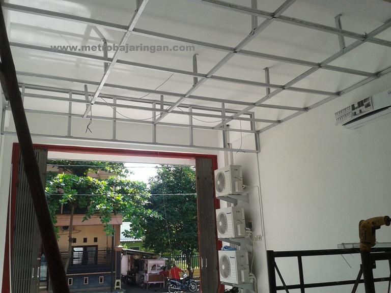 pasang plafon baja ringan 29 terbaru rangka dari minimalis