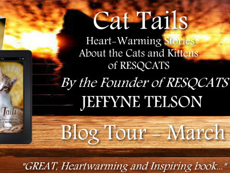 Cat Tails - Heart-Warming Stories about the Cats and Kittens of RESQCATS: blog tour/review