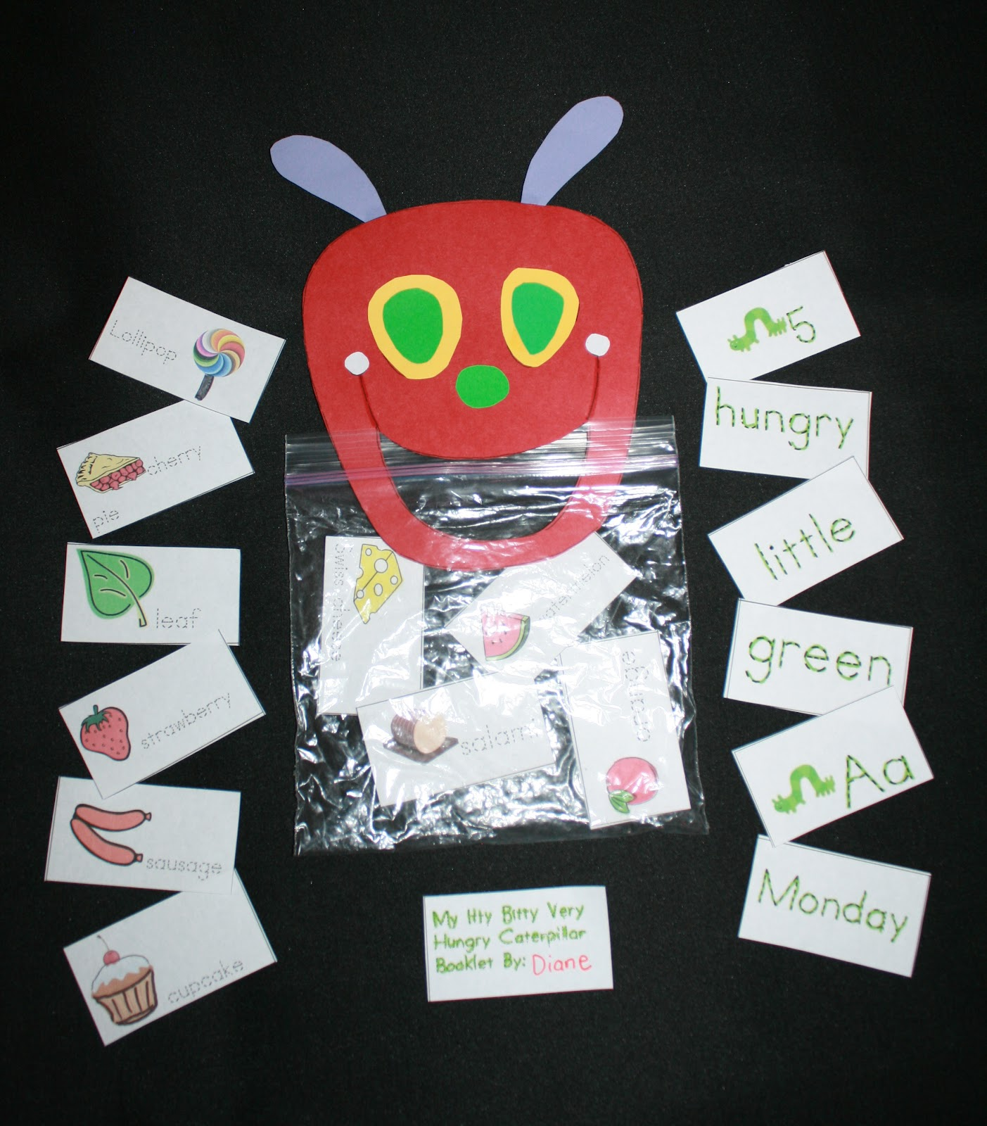 Classroom Freebies: Hungry Caterpillar Activity Packet