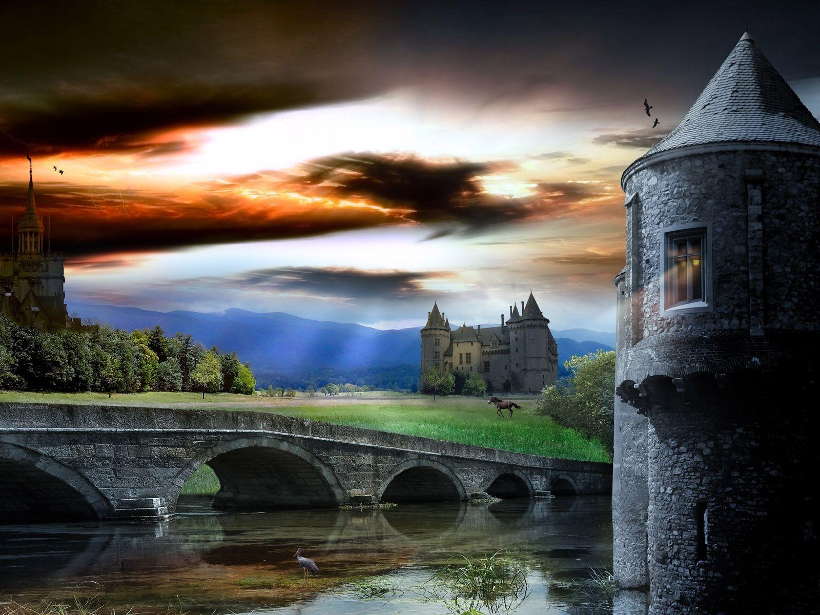 Free Desktop Wallpaper Amaze Your Friends: Amazing Fantasy Castle Wallpapers Free Download Your
