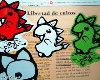 arte urbano stickers