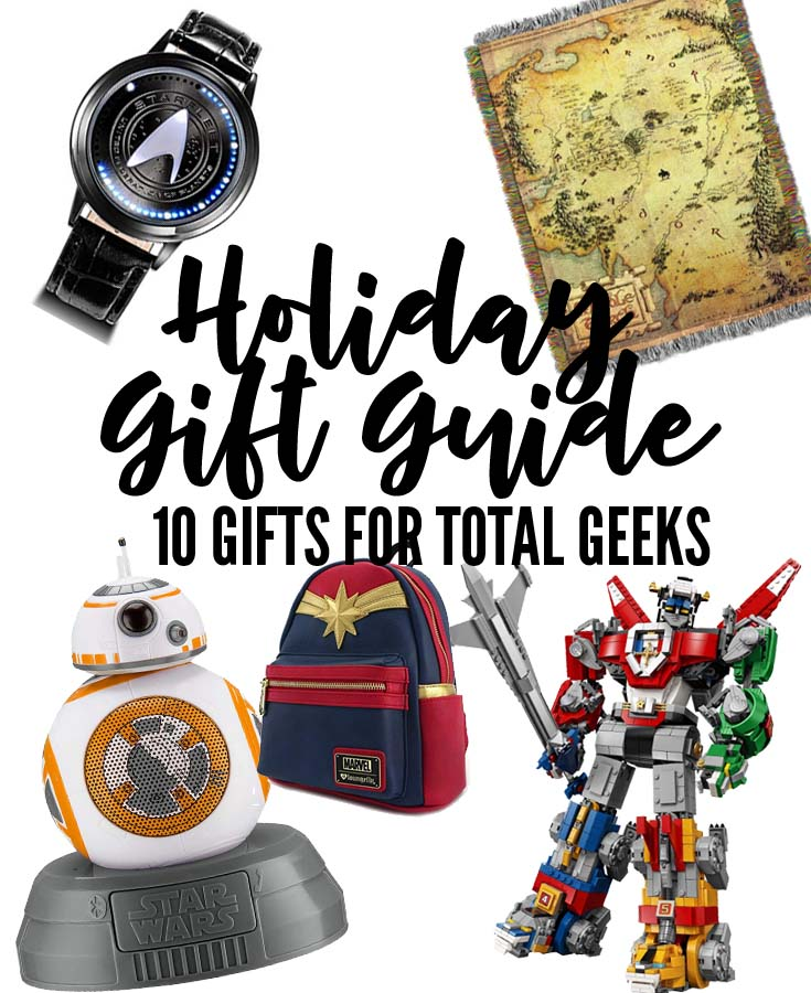 10 great gifts for a complete geek!