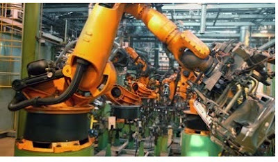 How is robotics used in manufacturing