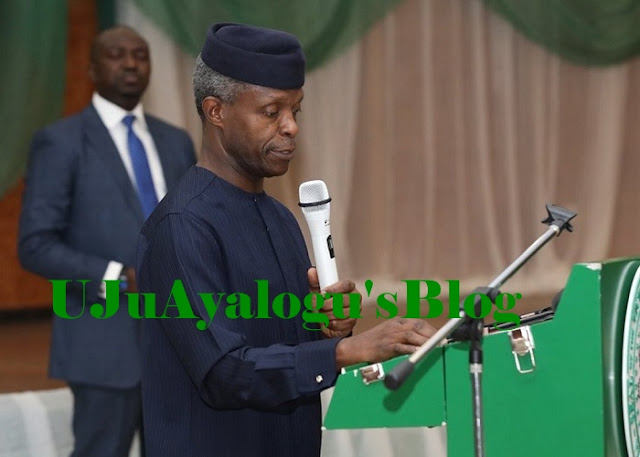 Stealing  unites all tribes in Nigerian -Vice President Yemi Osinbajo