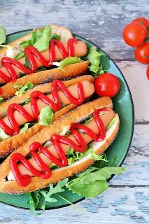 jak zrobić bułki do hot dogów
