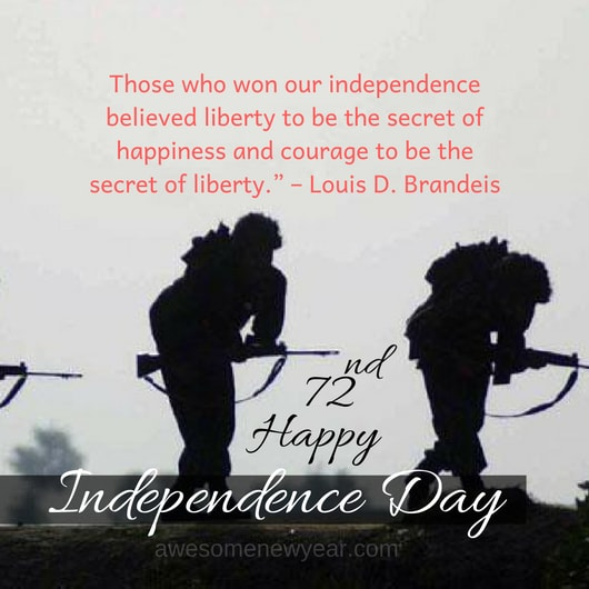 Download Happy 72nd Independence Day Quotes