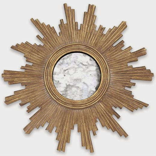 Make A Starburst Mirror From Recycled Magazines