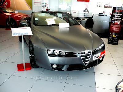 Car of the Day # 26 Alfa Romeo Spider Matte