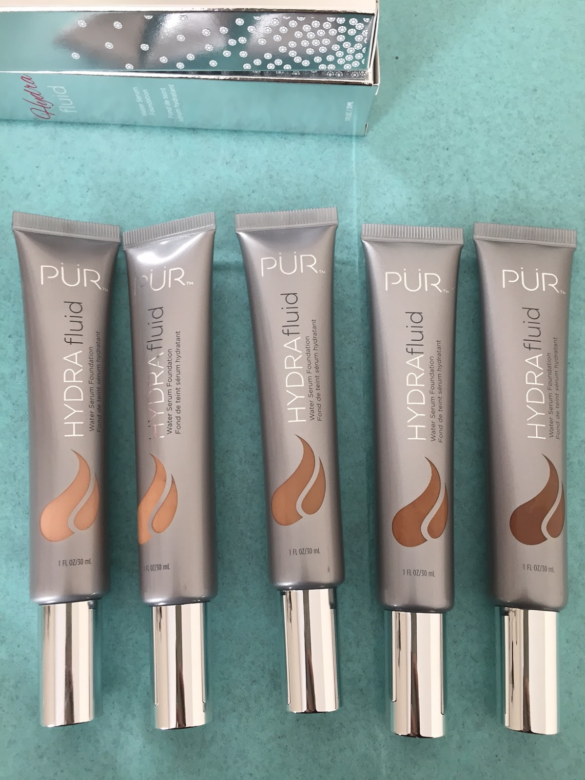 Pur minerals foundation review & swatches