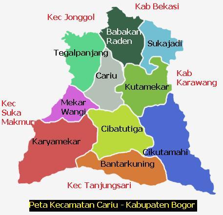 KotaKita.com: Peta Kota Cariu