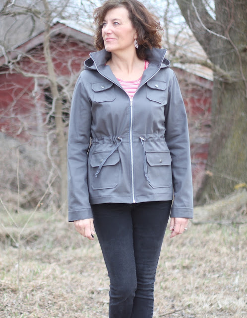 IndieSew Lonetree jacket made with a IndieSew kit
