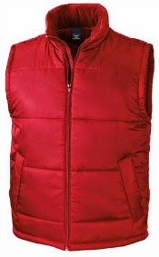 Red Gilet for Marty McFly dress-up