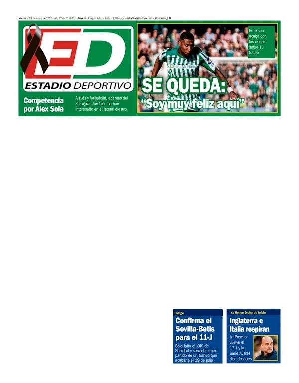 """Betis, Estadio Deportivo: """"Soy muy feliz aquí"""""""