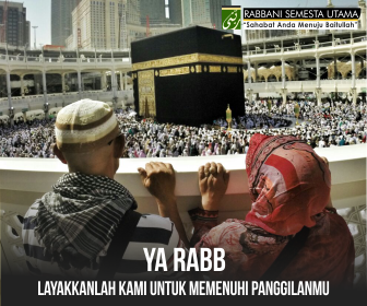 Umroh Bersama Rabbani - Sahabat Anda Menuju Baitullah