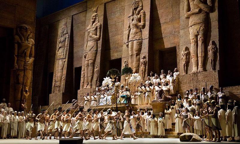 Προβολή της όπερας «Αΐντα» του Βέρντι στο Δημοτικό Θέατρο Αλεξανδρούπολης