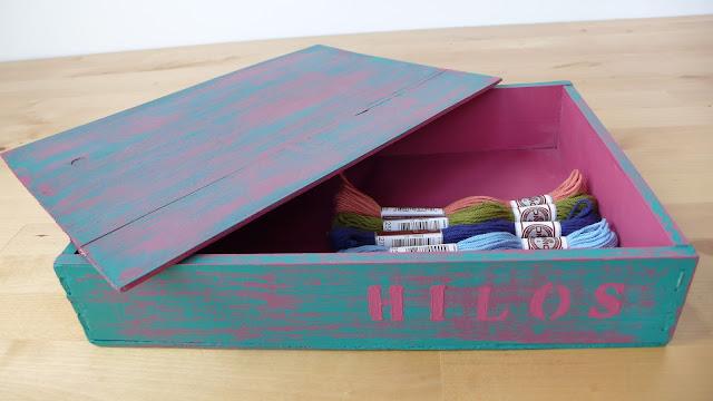 Caja-pintada-chalk-paint