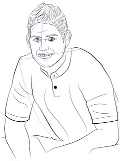 Langkah 10. Super Simpel Menggambar James Rodríguez