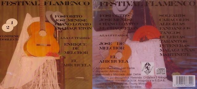 CHAQUETÓN, PEPE HABICHUELA  FESTIVAL FLAMENCO 2004 ABELENDA