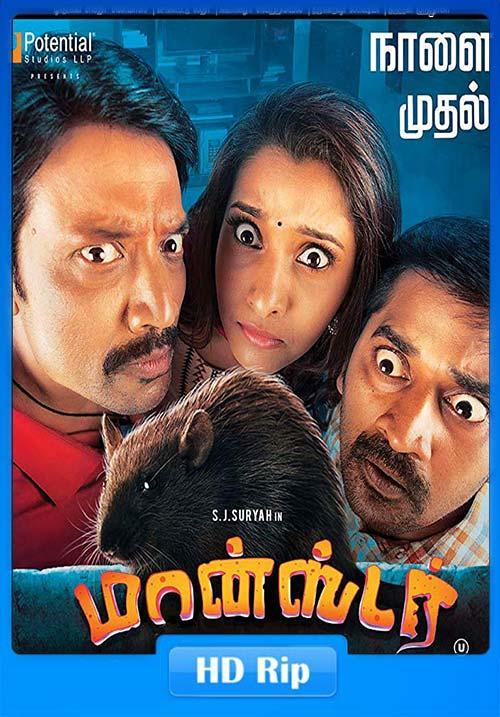 Monster 2019 Tamil 720p HDRip ESub x264   480p 300MB   100MB HEVC Poster