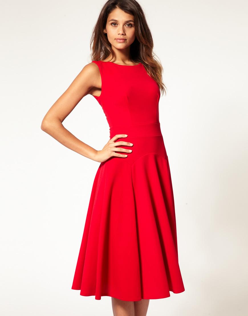 Fashion Split Personality Red Carpet