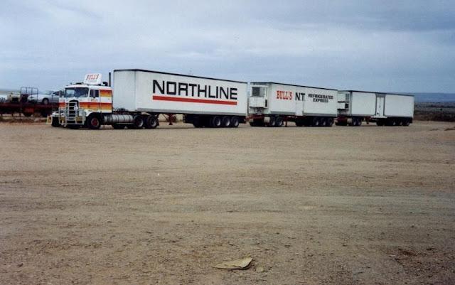 foto truk terbesar gandeng di dunia