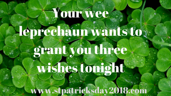 St Patrick day 2018 birthday quotes