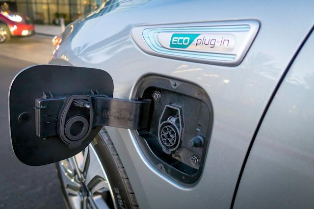 Charging port for 2017 Kia Optima Plug-In Hybrid