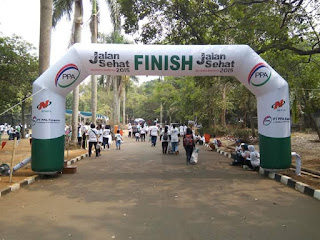 BALON GATE START-FINISH FUN RUN