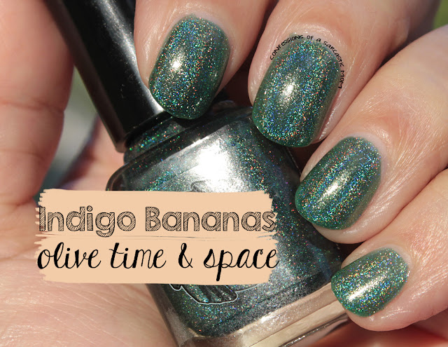 Indigo Bananas Olive Time & Space