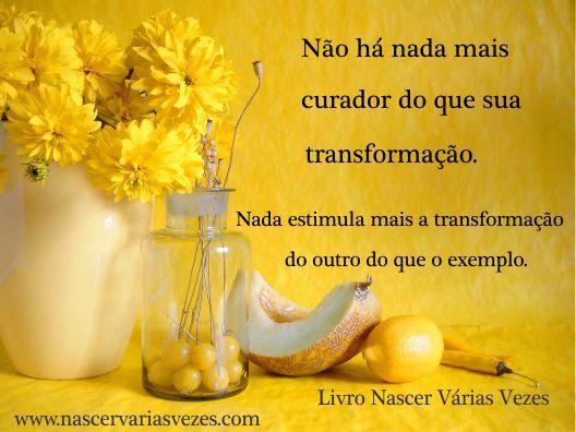 Sua transformação é sua cura