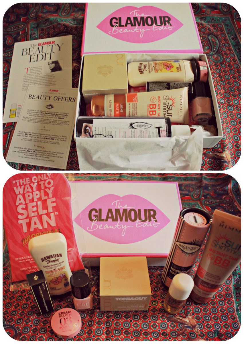 Glamour Beauty Box: The Summer Beauty Edit