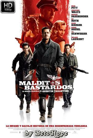 Malditos Bastardos [2009] [Latino-Ingles] HD 1080P  [Google Drive] GloboTV