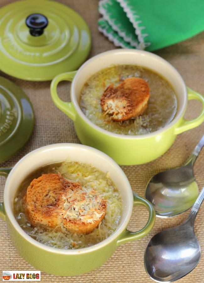 Lazy blog receta de sopa de cebolla tradicional francesa for Cocina tradicional francesa