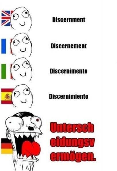 Lustiges über die Deutschen - Unterschied in der Sprache